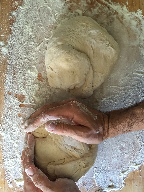 Making Sourdough Bread from Scratch