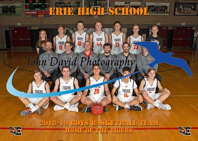 2018-19 EHS Boys Basketball Ind & Team Pics