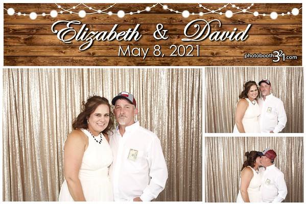 Elizabeth and David Wedding 2021