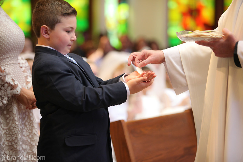 Lucas' First Holy Communion , St. Mary's -Stony Hill,  Watchung New Jersey