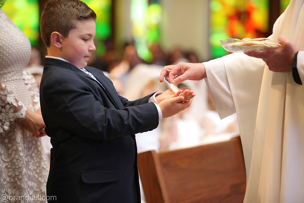 Lucas Ricci's First Holy Communion, New Jersey