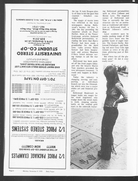 SoCal, Vol. 62, No. 34, November 09, 1970