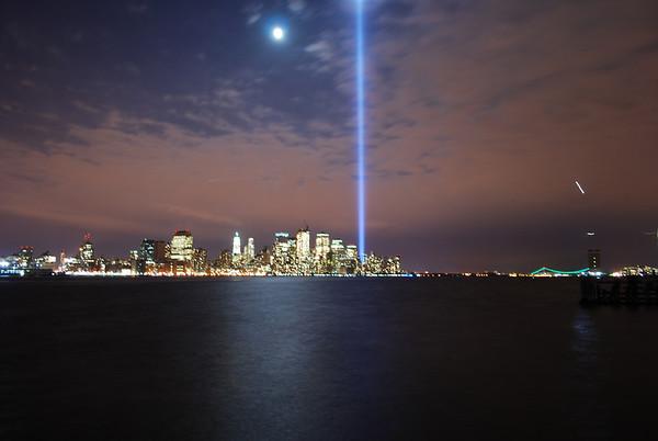 WTC Tribute Lights 2008