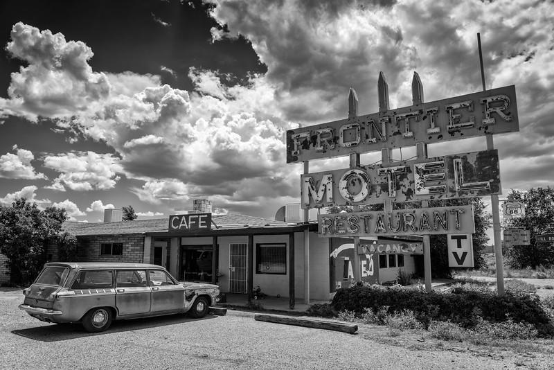 Route 66. Truxton AZ. 2014