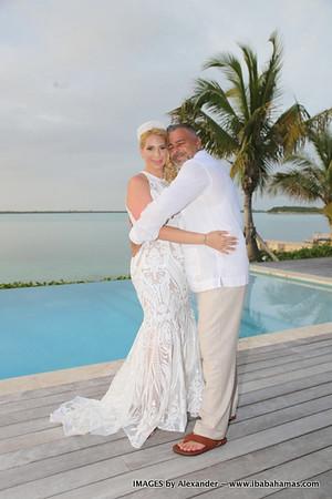 Luis & Esther | Destination Wedding | Hartswell,  Exuma, Bahamas