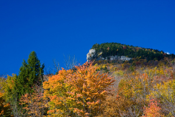 Indian Head Rock Formation, Lincoln, New Hampshire