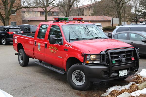 Glen Ellyn Box alarm apartment fire 02/18/2020