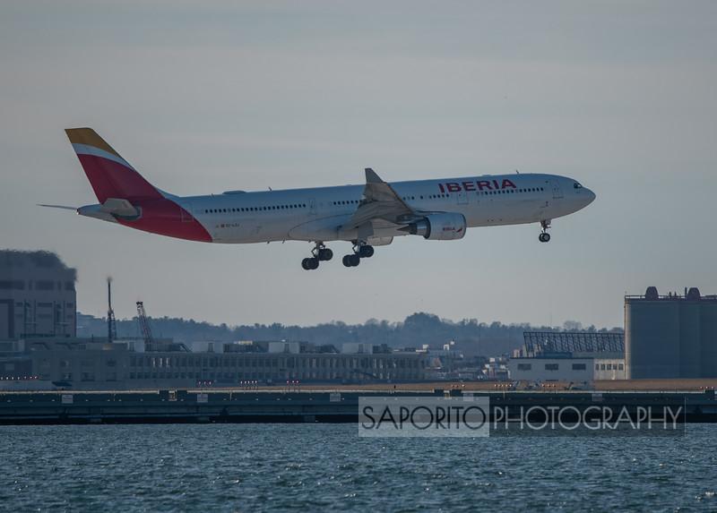 Iberia A330 BOS