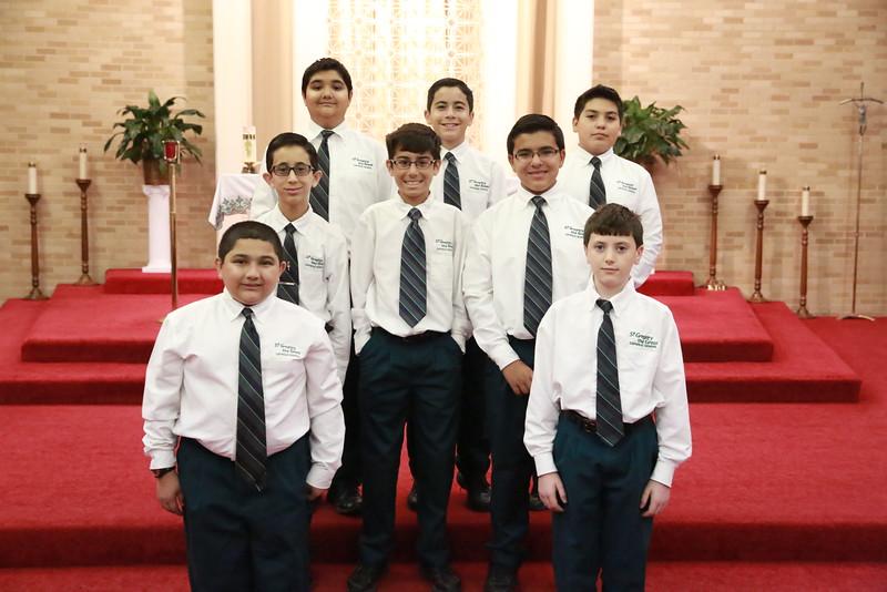 St Gregory Ambassadors 2015