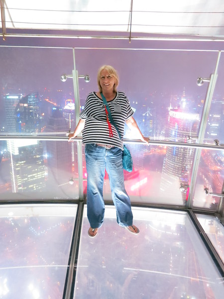 Dinner at Oriental Pearl Tower - Shanghai, China