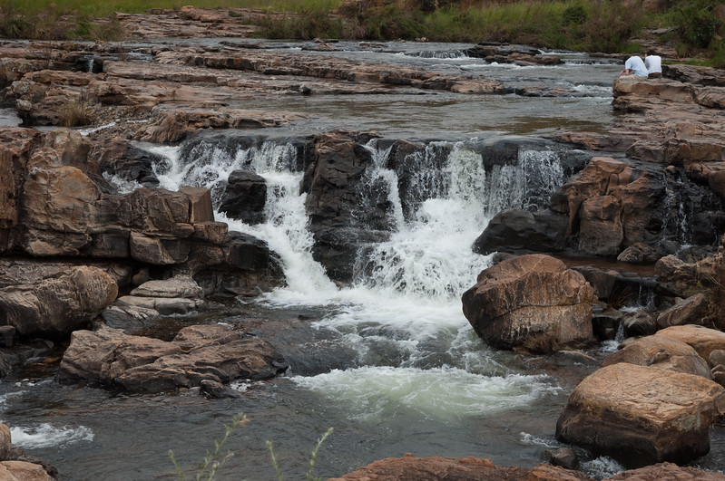 Treur River waterfall, Bourke's Luck Potholes