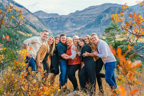 Brady Family - Af canyon