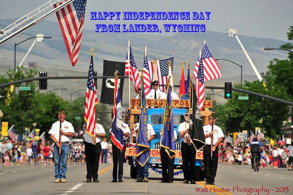 Lander's Independence Day