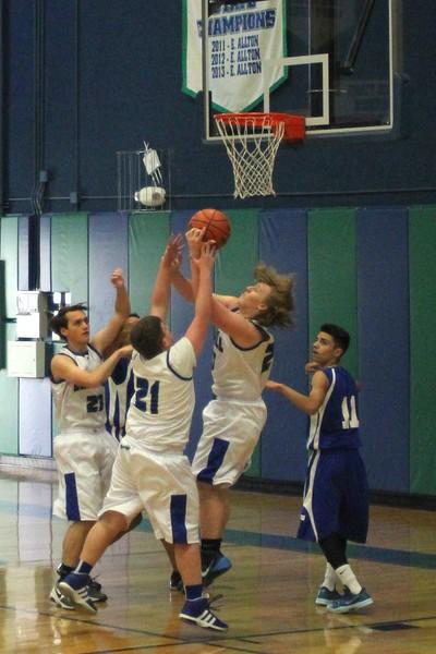 JV Boys Basketball vs Tyler Street 1.6.15