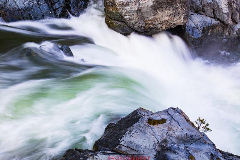 Love Falls on North Yuba River, near Sierra City, CA