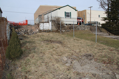 House Demolition, 215 Spruce St, Tamaqua (1-19-2012)