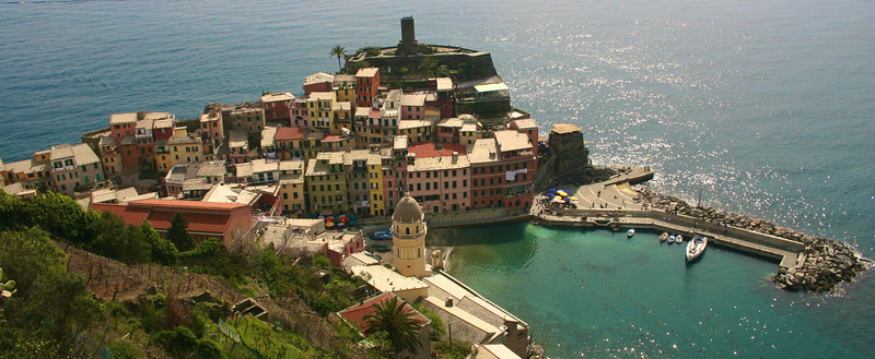 Vernazza from above!!!