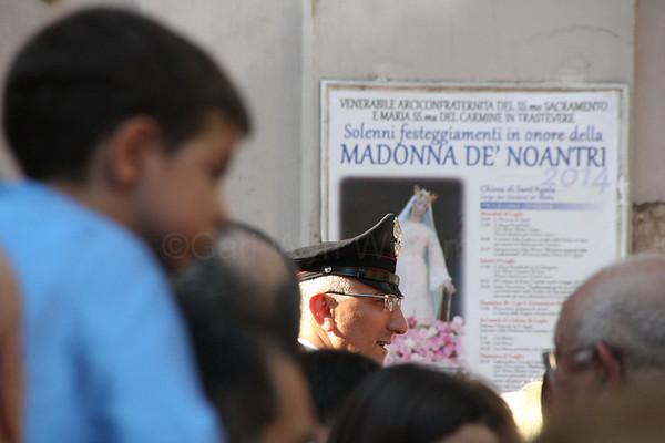 Festa de Noantri celebrations in Rome Italy