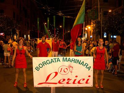 Foto sfilata borgate Palio del Golfo 2012 - Lerici