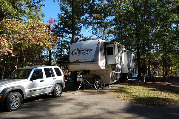 Journal Site 82:  Piney Grove COE Campground, Boonville, MS - October 29, 2007