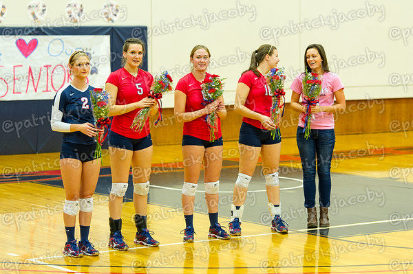 Senior Night Ceremony 10/25