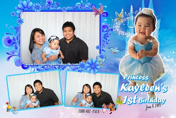 Kayleen's 1st Birthday