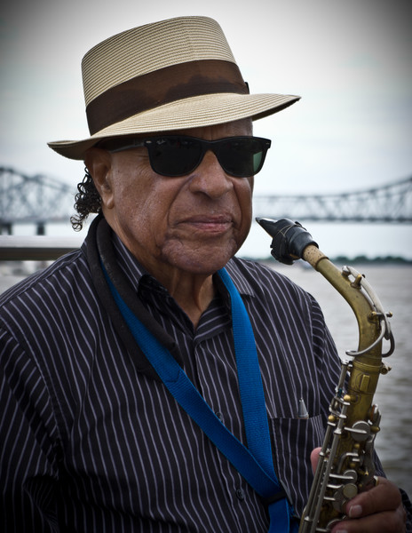 Sax Player in New Orleans