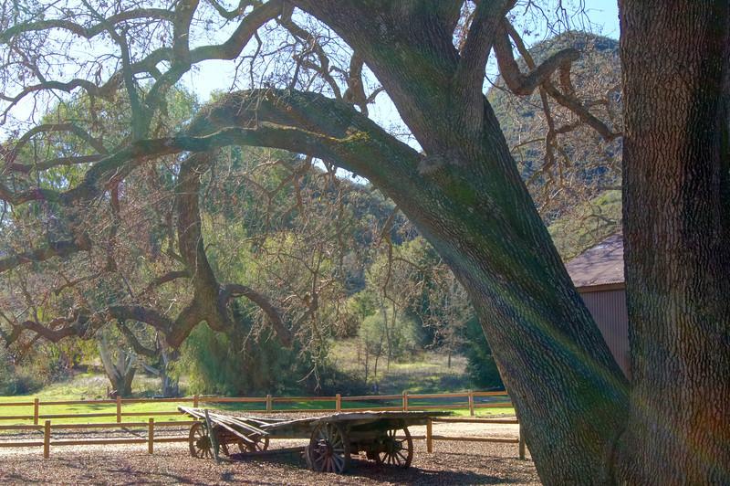 An Old, Broken-Down Wagon: HDR Socal Malibu Landscapes