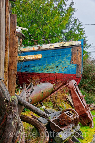 Evelyn May, Ucluelet, BC