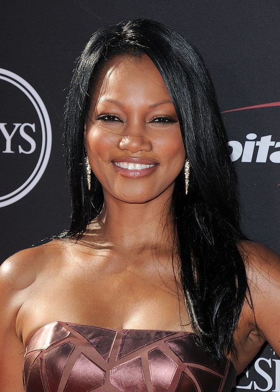 . Actress Garcelle Beauvais arrives at the ESPY Awards on Wednesday, July 17, 2013, at Nokia Theater in Los Angeles. (Photo by Jordan Strauss/Invision/AP)