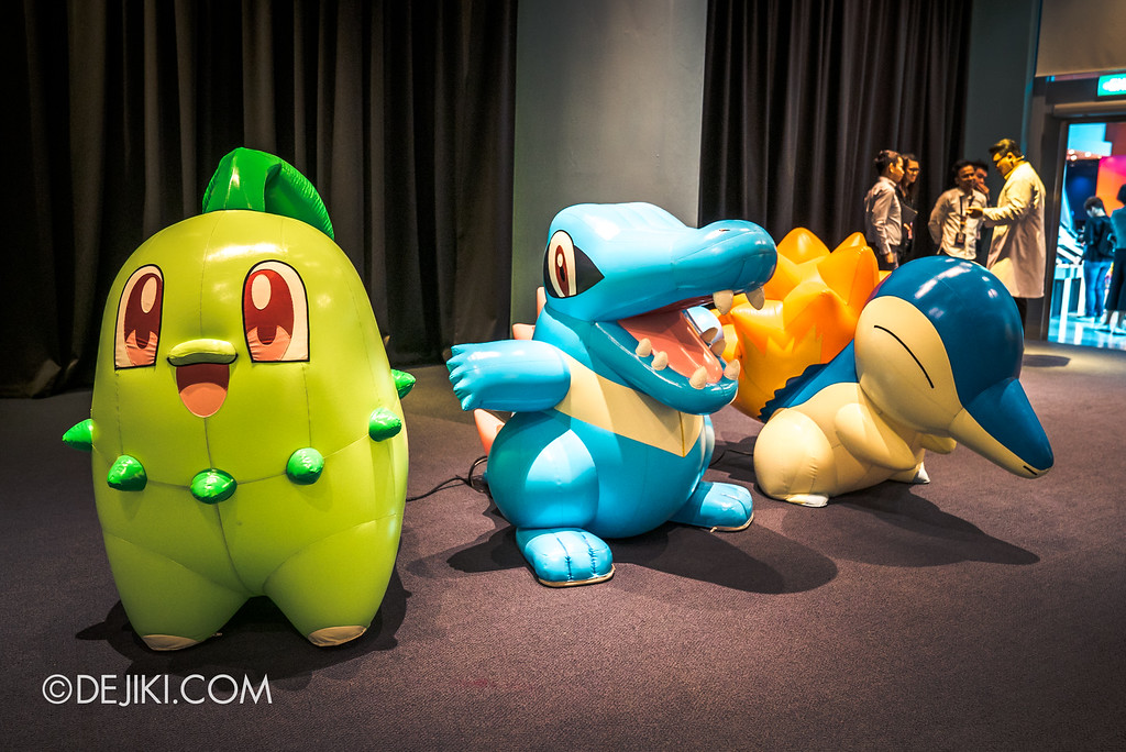Pokémon Research Exhibition Launch -  Second Generation Starters