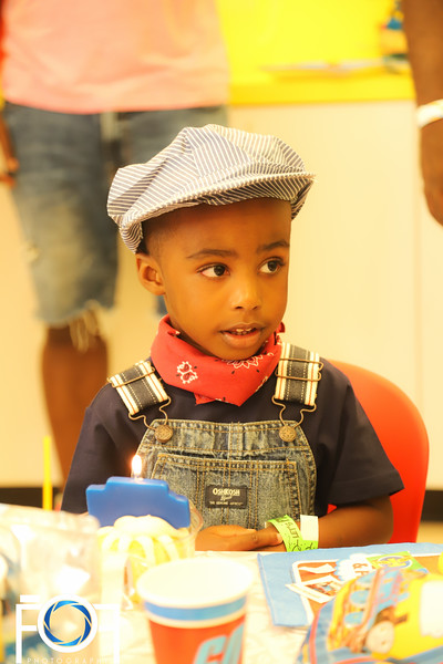 Ossie's 3rd Thomas & Friends Birthday  Party