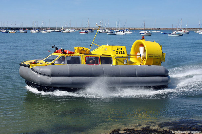 Tiger 12 GH-2126 Hovercraft Rental @ Holyhead Wales 27Jul08