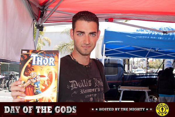 04.30.11 Thor at Gold's