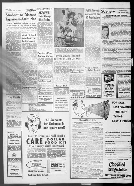 Daily Trojan, Vol. 45, No. 57, December 11, 1953