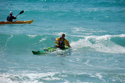 Surfing at Provatas - Mar09