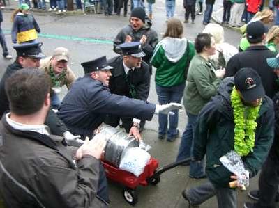 St. Patrick's Day Parade - Newport