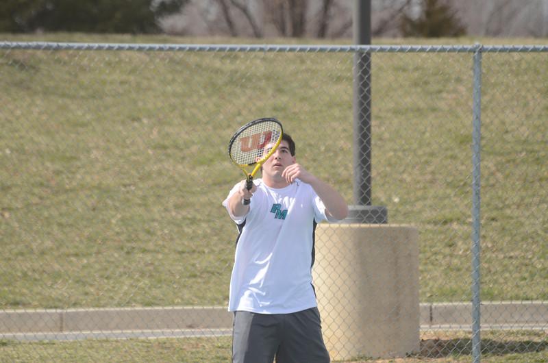 JV Tennis April 1 vs Fallston