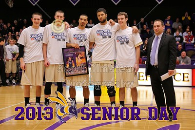 2013 Senior Day Introductions (02-09-13)
