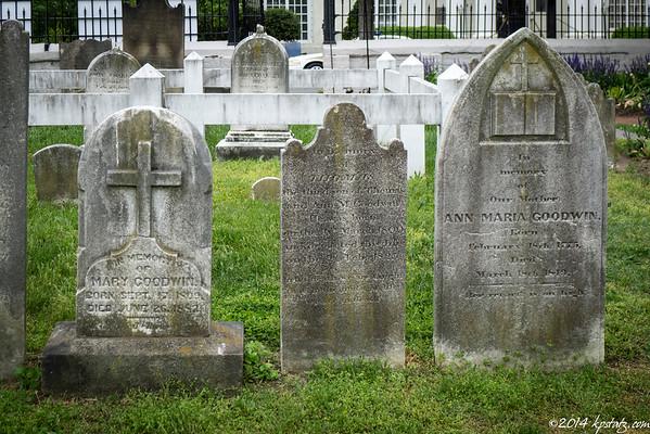 St. George Church Cemetery Fredericksburg, VA 2014