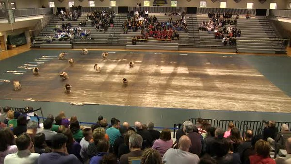 2013-02-16 - RHS Winterguard Video - Kennesaw Mountain Visual Invitational