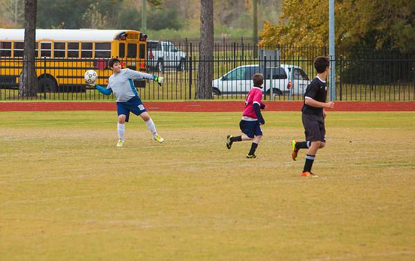 Briarwood Jr. High Soccer - Dec. 5, 2013