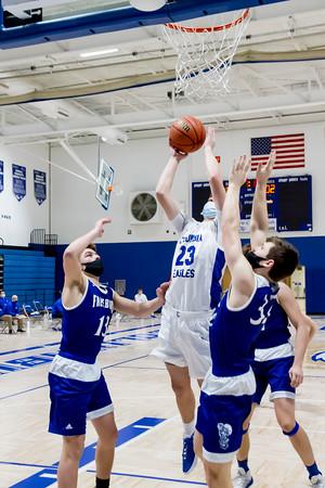 2/11/21 Columbia Boys Basketball v Freeburg
