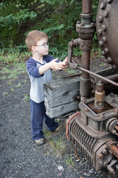 Charlie Locomoting