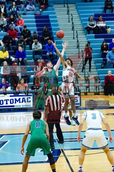 Forest Park @ Potomac Boys Varsity Basketball 12-20-19