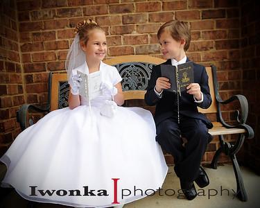 Allie & Erik's Communion