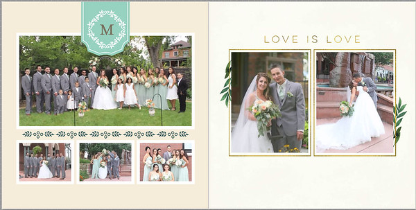 Jennifer and Michael Wedding ALBUM / PROOF