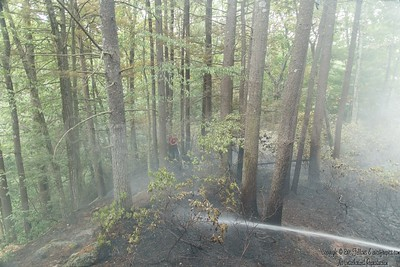 Brush Fire - Kendall Hill Road - Ashby, MA - 6/26/2020