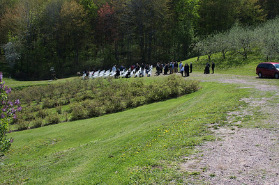 A Hixton Wedding  at Cain's Orchard