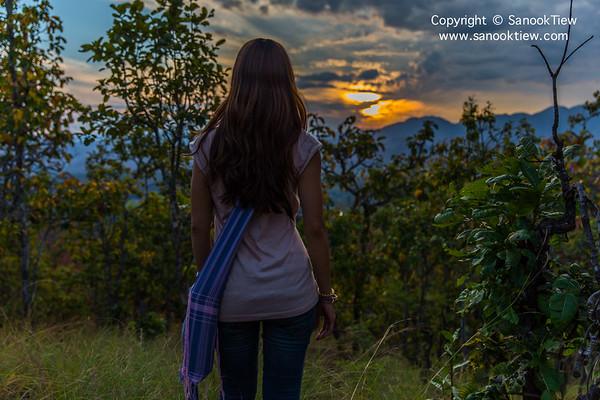 แม่ฮ่องสอน | ไฮกิ้ง ชมธรรมชาติ + พระอาทิตย์ตก ที่ ป่าหินงามเมืองปาย